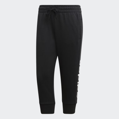 Essentials Linear 3/4 Pants Czerń