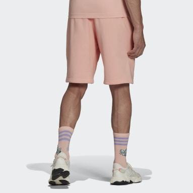 Men Originals Pink Funny Dino Shorts