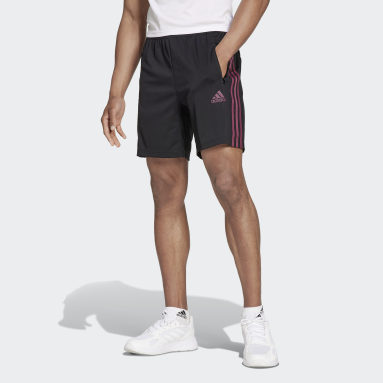 Shorts Primeblue Designed To Move Sport 3 Rayas Negro Hombre Training