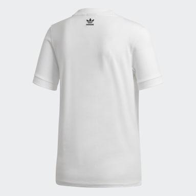 Camiseta Adilette Blanco Mujer Originals