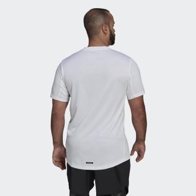 Camiseta Team Ethiopia HEAT.RDY Blanco Hombre Gimnasio Y Entrenamiento