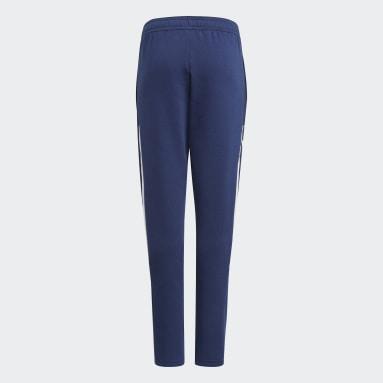 Youth Lifestyle Blue Tiro 21 Sweat Pants