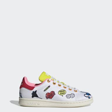 Kinder Originals Stan Smith Primeblue Schuh Weiß