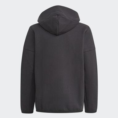 Chaqueta con capucha Z.N.E. Negro Niño Sportswear