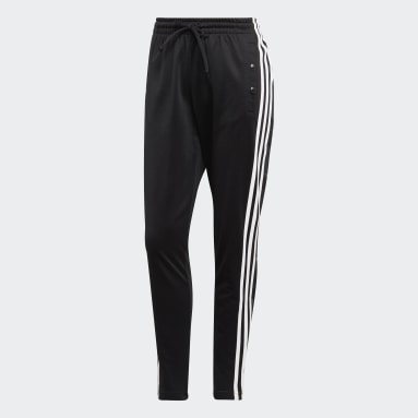 Women Sportswear Black ID 3-Stripes Snap Joggers