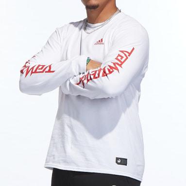 Men's Sportswear White Mahomes Long Sleeve Tee