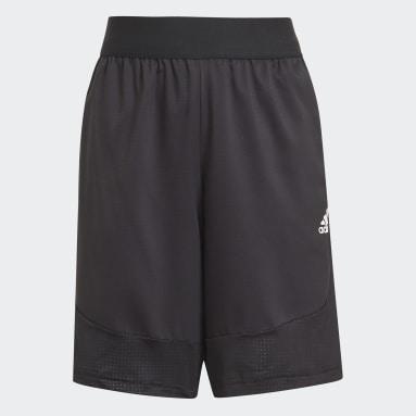 Pantalón corto XFG AEROREADY Sport Negro Niño Gimnasio Y Entrenamiento
