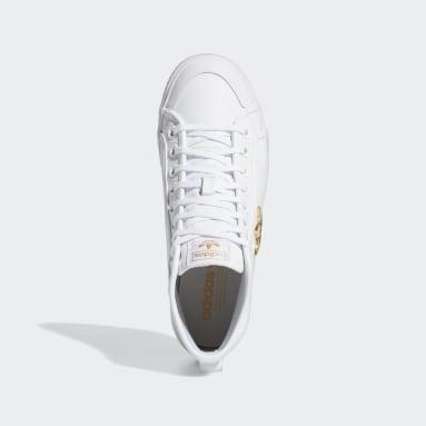 Women's Originals White Nizza Trefoil High Shoes