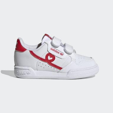 Infants Originals สีขาว รองเท้า Continental 80
