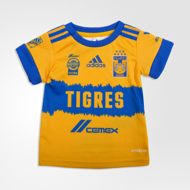 Uniforme Bebé Titular Tigres UANL 20/21 (UNISEX) Amarillo Niño Fútbol