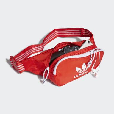 Originals Rød Adicolor Classic bæltetaske