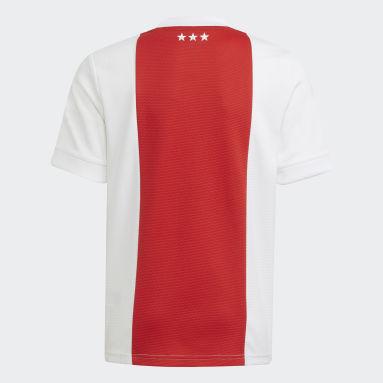 Camiseta primera equipación Ajax 21/22 Blanco Niño Fútbol