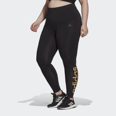 Legging Essentials High-Waisted Logo (Grandes tailles) Noir Femmes Sportswear