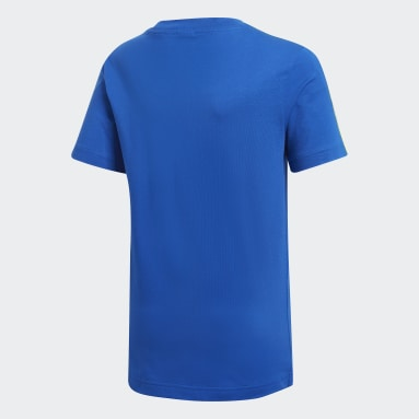 Camiseta 3 Rayas Essentials Azul Niño Training