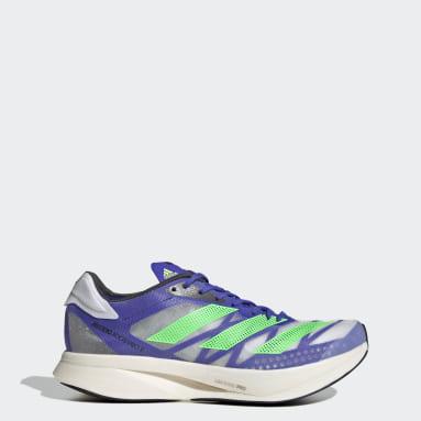 Chaussure Adizero Adios Pro 2.0 Bleu Running