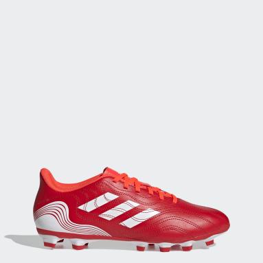 красный Футбольные бутсы Copa Sense.4 FxG