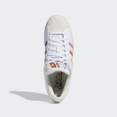 Originals Hvid Superstar Pride sko
