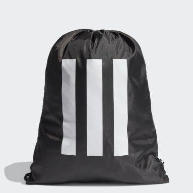 Lifestyle Black Essentials 3-Stripes Gym Sack