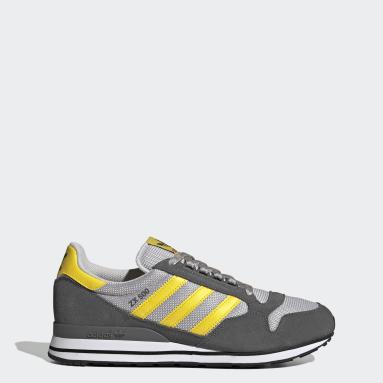 Men Originals Grey ZX 500 Shoes