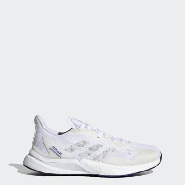 Women Running White X9000L3 Primeblue Shoes