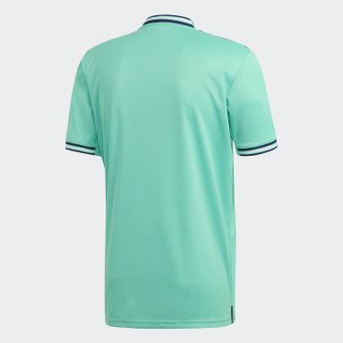 Camiseta Tercer Uniforme Real Madrid Verde Hombre Fútbol