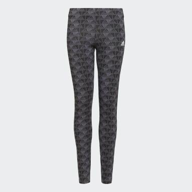 Girls Sportswear Grey adidas Essentials Logo Leggings