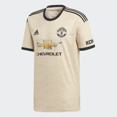 Muži Fotbal béžová Venkovní dres Manchester United