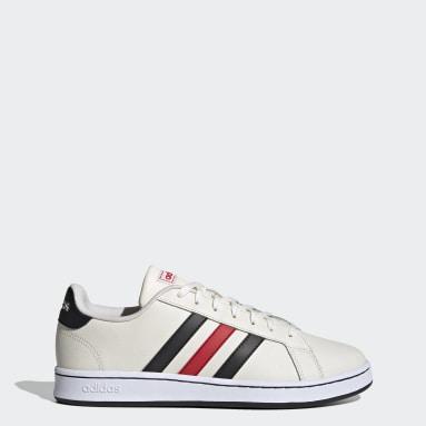 Women Sportswear White Grand Court Shoes