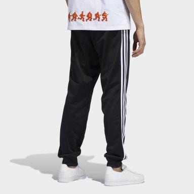 Mænd Originals Sort 3-Stripes træningsbukser