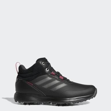 Zapatilla de golf S2G Mid-Cut Negro Mujer Golf