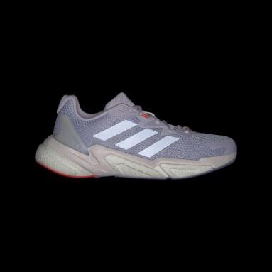 ผู้หญิง วิ่ง สีม่วง รองเท้า X9000L3