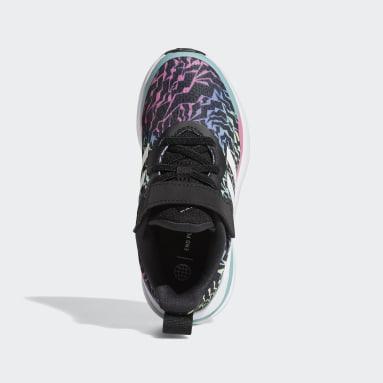 черный Кроссовки с эластичными шнурками и ремешком FortaRun