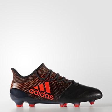 X 17.1 FG Leather Negro Hombre Fútbol
