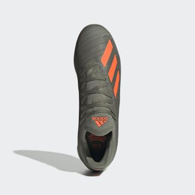 Calzado de Fútbol X 19.3 Bajo Techo Verde Hombre Fútbol