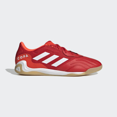 Men's Soccer Red Copa Sense.3 Indoor Sala Shoes