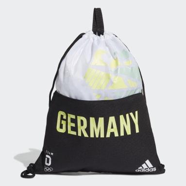 Fitness & Training Team Deutschland Sportbeutel Schwarz