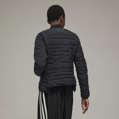 Women Y-3 Black Y-3 Classic Cloud Insulated Bomber Jacket