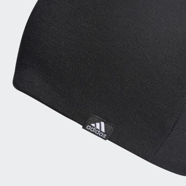 Sportswear Black Lightweight Long Beanie