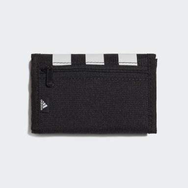 Volleybal Zwart Essentials 3-Stripes Portemonnee