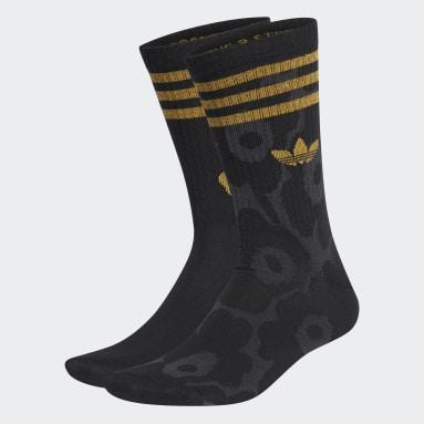 Calcetines Largo Clásico adidas Originals x Marimekko 2 Pares Negro Originals