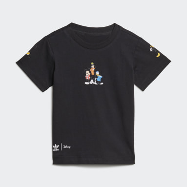 Conjunto de Shorts y Polera Disney Mickey y Amigos Negro Niño Originals