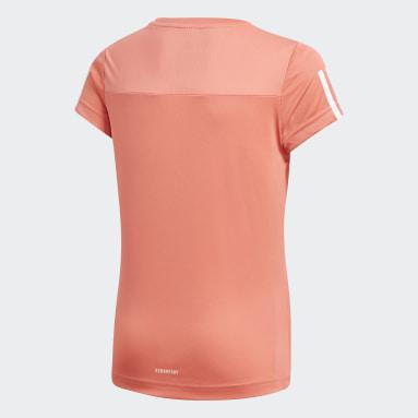 Camiseta Equipment Rojo Niña Gimnasio Y Entrenamiento