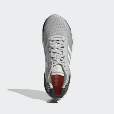 ผู้ชาย วิ่ง สีเทา รองเท้า Solar Glide ST 19