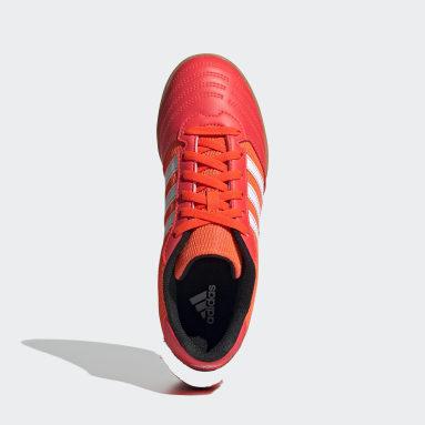 Kids 4-8 Years Futsal Orange Super Sala Boots