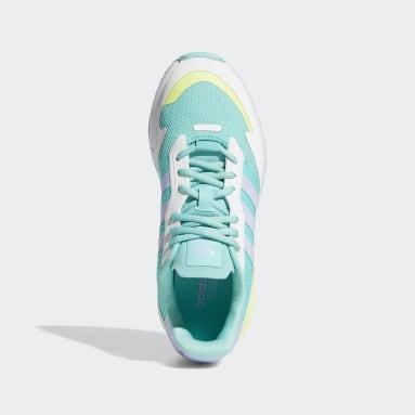 Women's Originals Green ZX 1K Boost Shoes