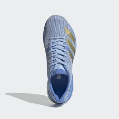 Tenis Adizero Boston 8 Azul Mujer Running