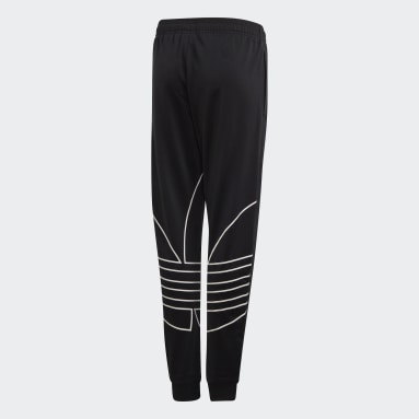 Pants Trifolio Grande (UNISEX) Negro Niño Originals