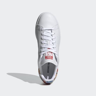 Tenis Stan Smith Blanco Mujer Originals