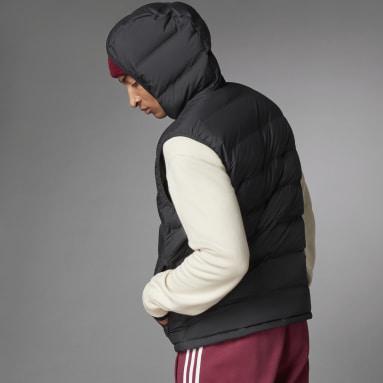 Men's Lifestyle Black Helionic Down Vest