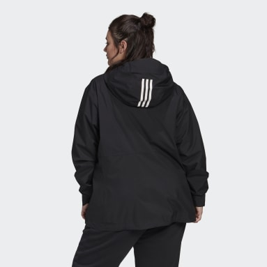 Giacca BSC 3-Stripes RAIN.RDY Nero Donna City Outdoor